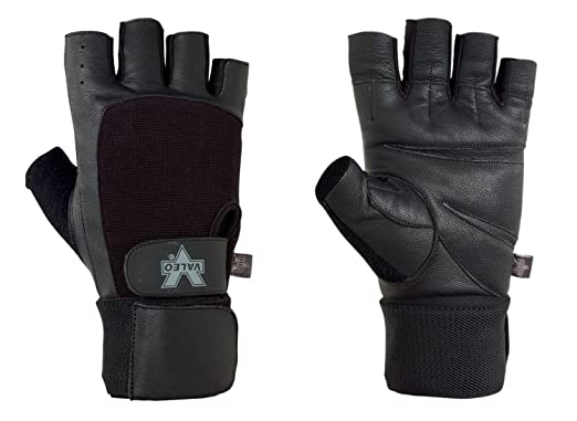 best leather workout gloves with wrist strap