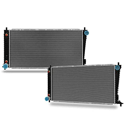 CU2165 2-Rows Radiator Replacement for ford F-150 F-250 Expedition 1997 1998 V8 4.6L: Automotive