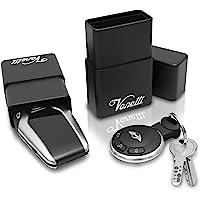 VONETTI Alpha Shield 10cm Premium keyless entry protection, bescherming aluminium doos voor autosleutels, RFID Blocker…