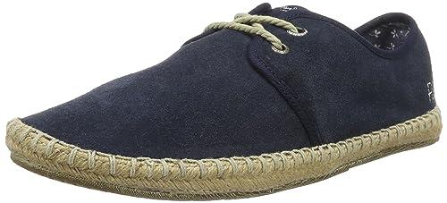 Mens Tourist Basic 4.0 Espadrilles, Brown Pepe Jeans London