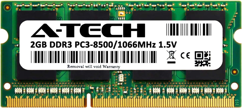 2056E1U RAM Memory Upgrade for The IBM ThinkPad T500 Series T500 PC3-8500 2GB DDR3-1066