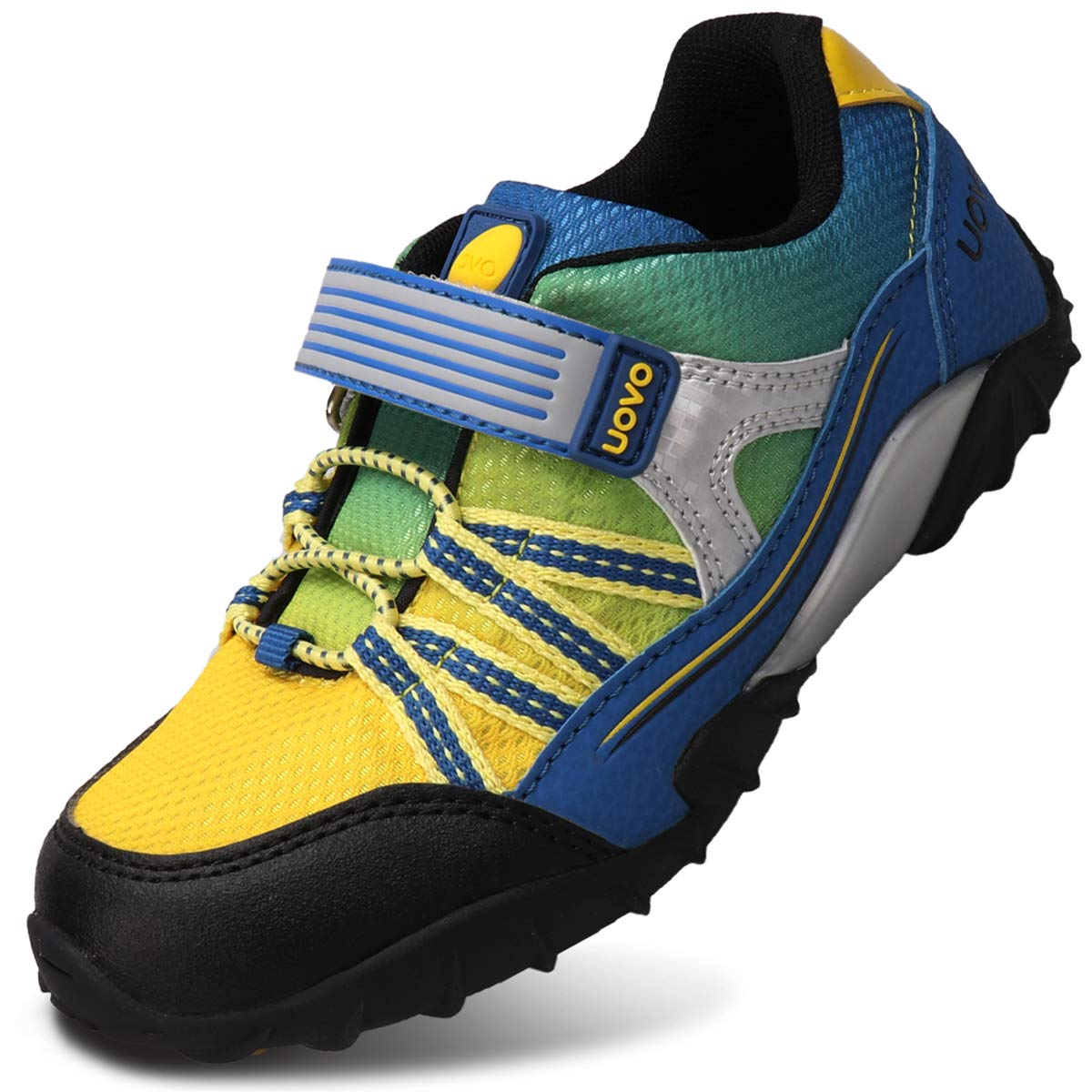 UOVO Little Boys Shoes Running Sneakers Kids Hiking Athletic Tennis Shoes for Toddler Boys Blue by UOVO (Image #2)