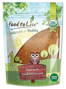 Organic Cocoa Powder, 4 Pounds - Natural, Unsweetened, Non-Dutched, Non-GMO, Kosher, Sirtfood, Bulk