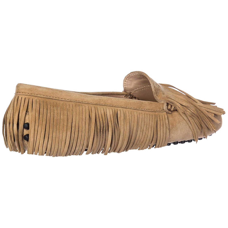 Tods Mocasines en Ante Mujer marrón EU 36 XXW00G0Y720HR0C220: Amazon.es: Zapatos y complementos