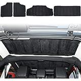 JeCar Hardtop Headliner Roof Insulation Kit Interior Accessories for 2012-2018 Jeep Wrangler JK Unlimited Sport Sahara…