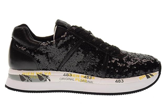Gran Sorpresa Asombroso PREMIATA scarpe donna sneakers basse CONNY 2587 NERO taglia 37 Nero Almacenista Geniue En Venta Comprar Barato Elección M0ku0
