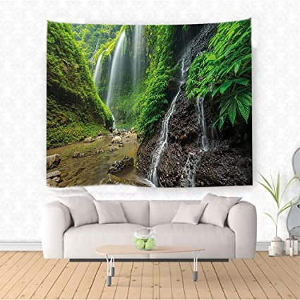 Amazon Com Nalahome Waterfall Decor Waterfalls Side Valley In