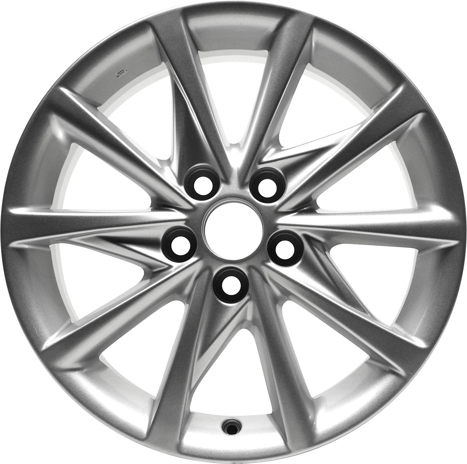 Partsynergy Replacement For New Aluminum Alloy Wheel Rim 17 Inch Fits 2013-2016 Ford Escape 5-108mm 5 Spokes