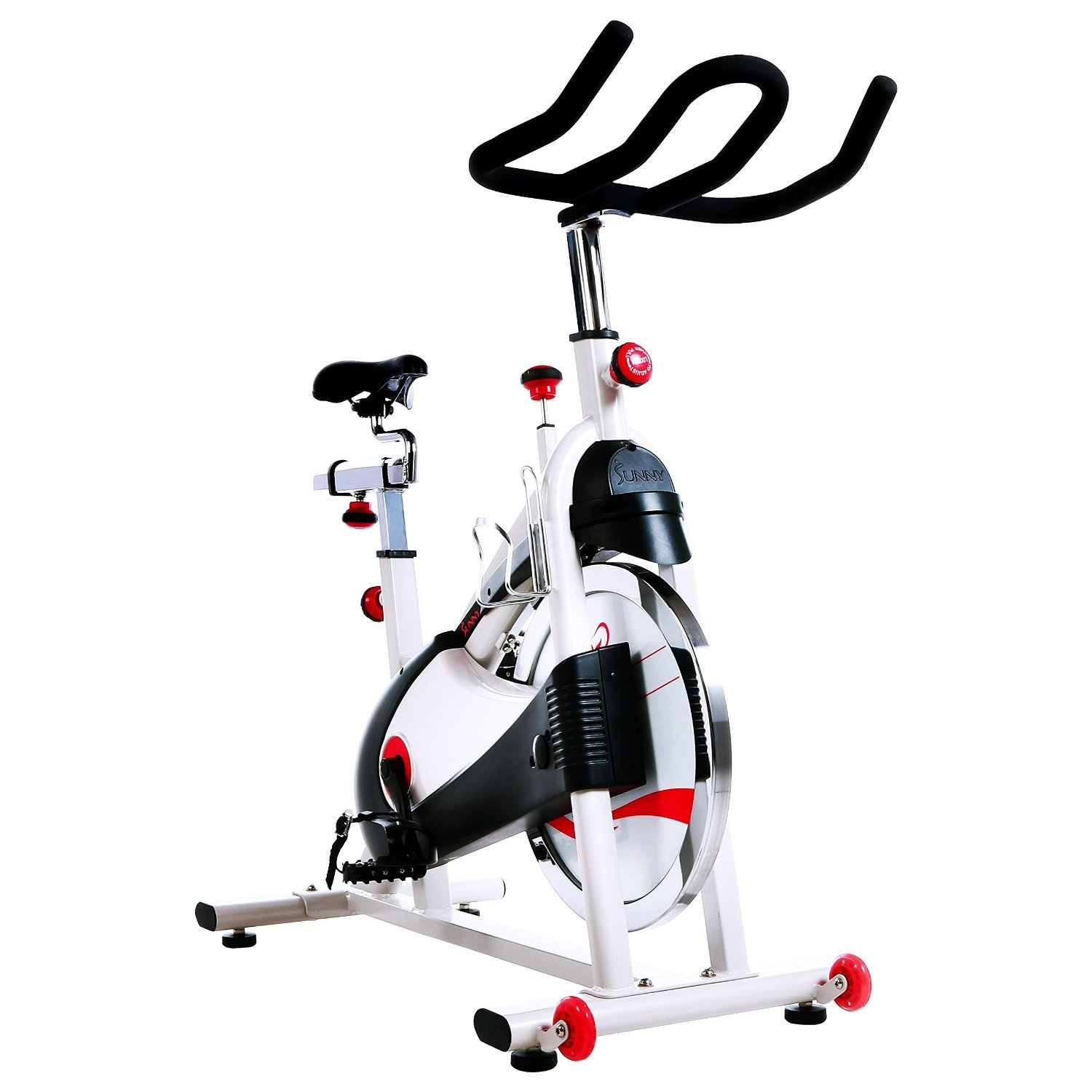 Belt Drive Premium Indoor Cycling Exercise Bike by Sunny Health & Fitness