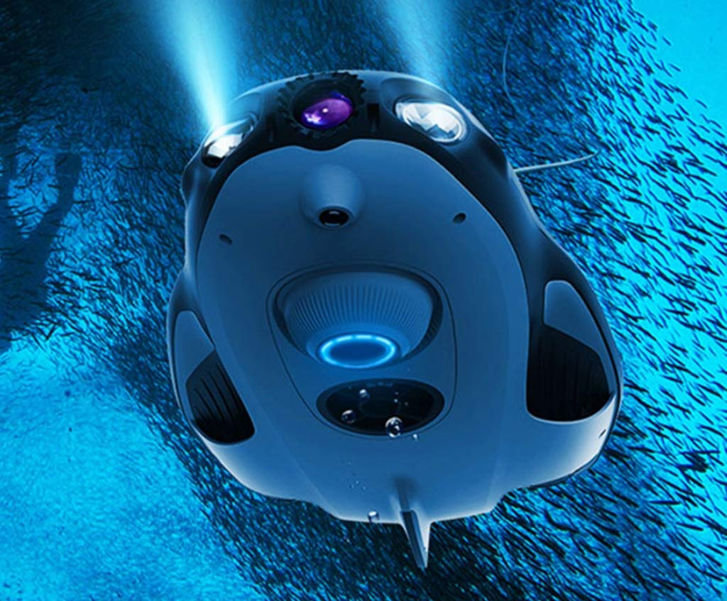 HYLH Drone Submarino, cámara Exploradora Drone 4K UHD ROV Buceo ...