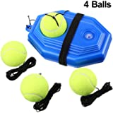 Gejoy 5 Pieces Tennis Training Equipment Tennis Trainer Rebounder Ball Trainer Set with String for Kids Youth Beginner…