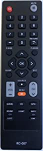 RC-057 Remote Control Replaced for COBY TV TFTV1925 LEDTV1926 TFTV2225 LEDTV1935 LEDTV2326 LEDTV3226 LEDTV5536 LEDVD1596 TFTV2425 TFTV4028 TFTV3229