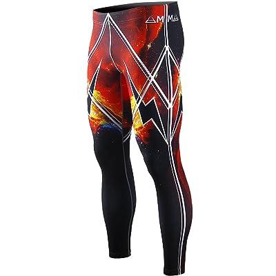 c702955f944d28 zipravs BJJ Compression Tight Pants Workout Running Baselayer for Men