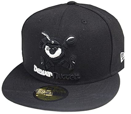 best authentic 2a47d 3e838 New Era NBA Denver Nuggets Black White 59fifty Fitted Cap Basecap Limited  Edition  Amazon.co.uk  Clothing
