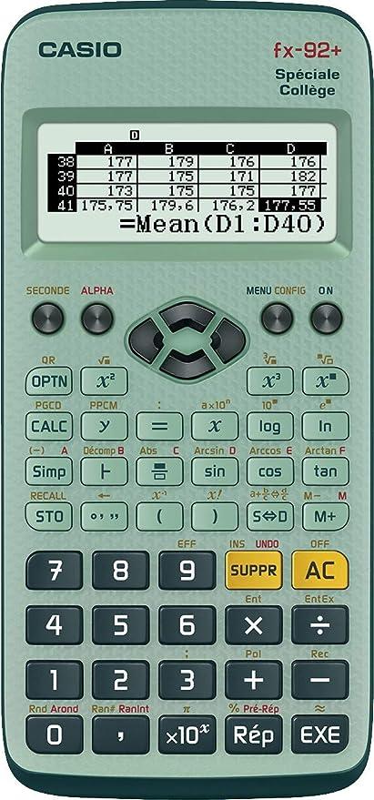 Casio FX-92 College 2D - Calculadora científica (con batería ...