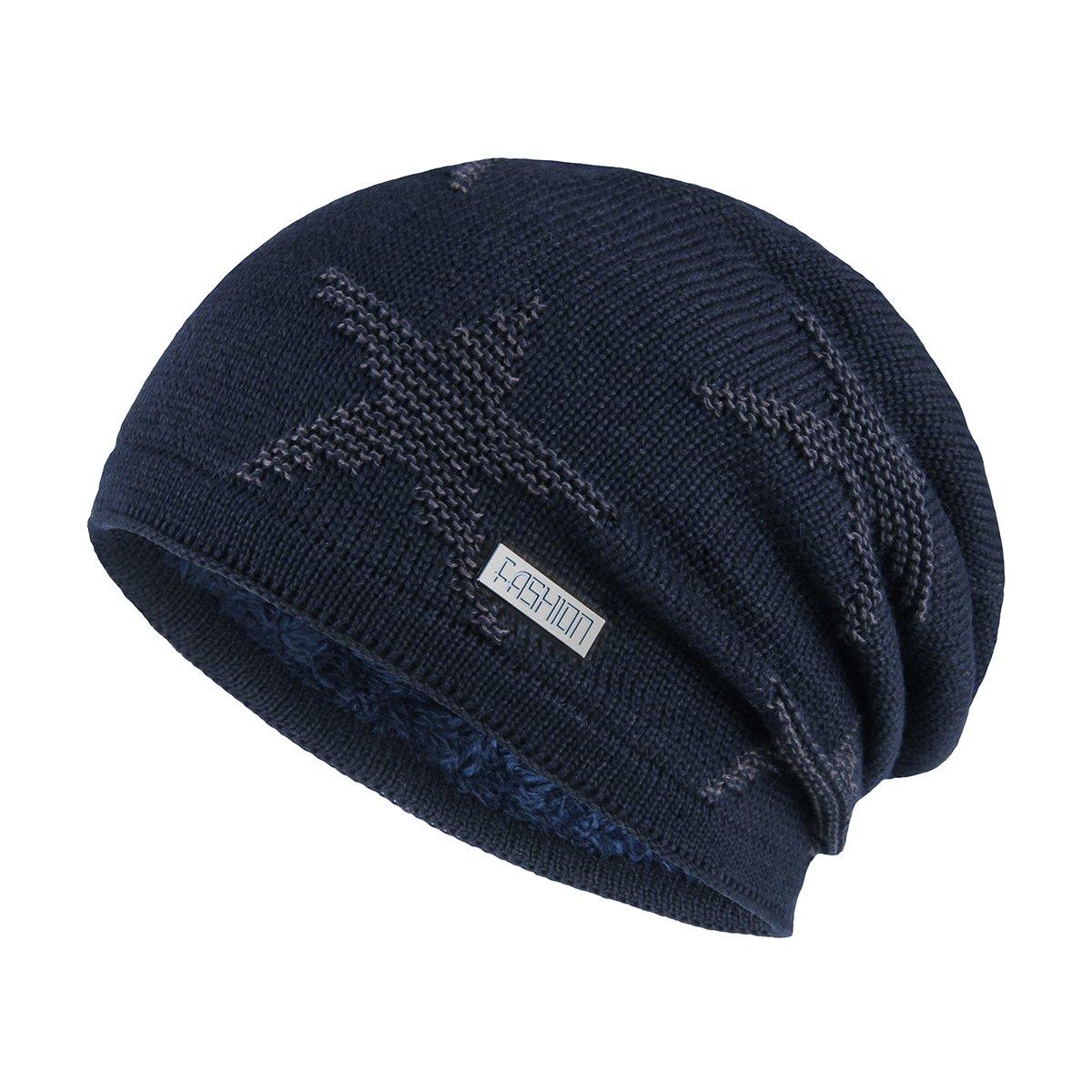 OMECHY HAT レディース メンズ  ネイビー B076MNP1RR