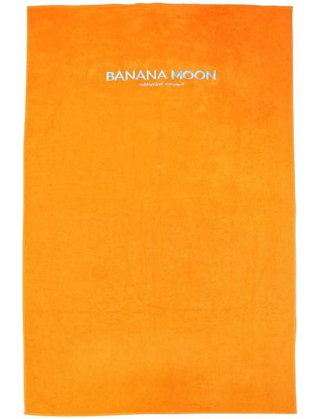 Banana Moon Toalla de playa Plain Towely Naranja: Amazon.es: Ropa y accesorios
