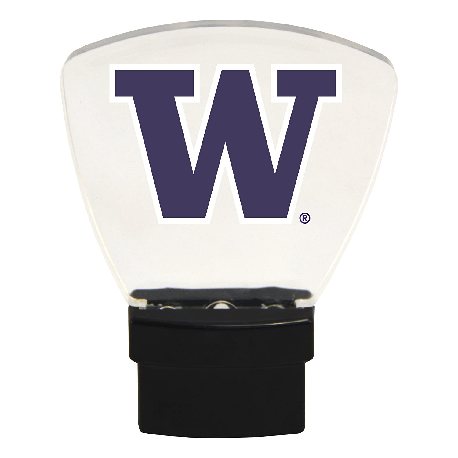 Plug in-Great Sports Fan Gift for Adults-Babies-Kids Room Authentic Street Signs NCAA Officially Licensed-LED Night Light-Super Energy Efficient-Prime Power Saving 0.5 watt