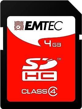 Emtec SDHC 4GB Class4 4GB SDHC Class 4 memoria flash ...
