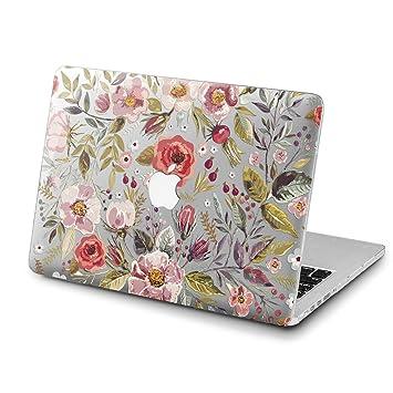 promo code 3ce1c 83853 Amazon.com: Lex Altern MacBook Pro 15 inch Case Floral Mac Air 13 ...