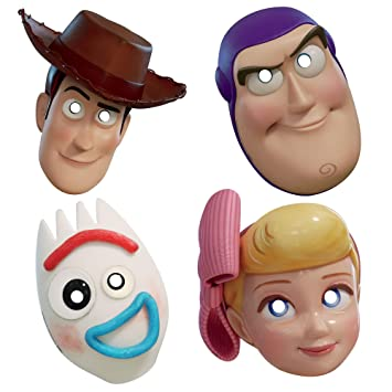 Amscan Incorporated Toy Story 4 Party Masks [8 per Package ...