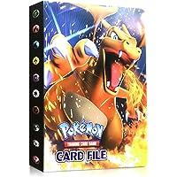 Funmo Pokemon korthållare album, samlaralbum Pokemon pärm för kort album för Pokémon-kort GX och EX rymmer 120 kort…