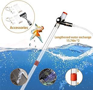 Ssriver Aquarium Vacuum Cleaner