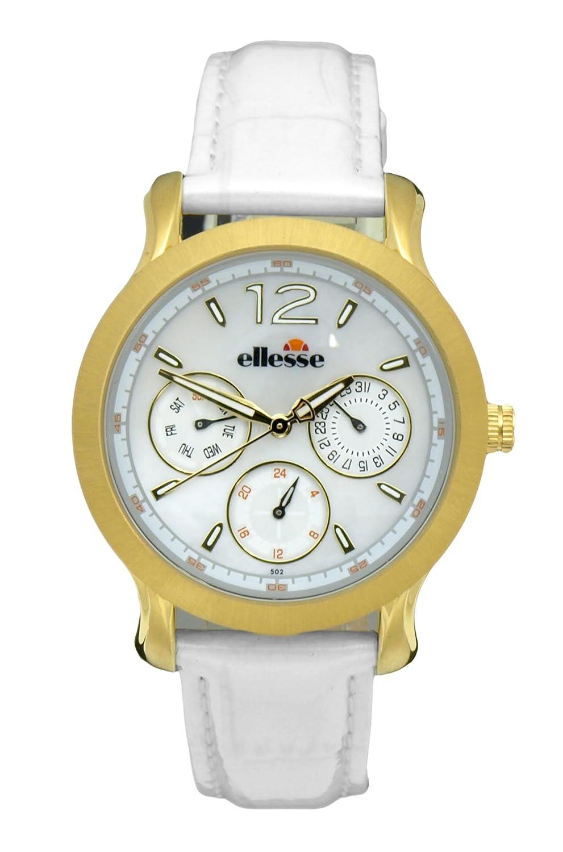 Elesse Unisex-Armbanduhr Analog Quarz Leder 556MF03-03