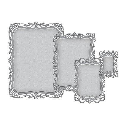 amazon com spellbinders s5 148 nestabilities decorative labels