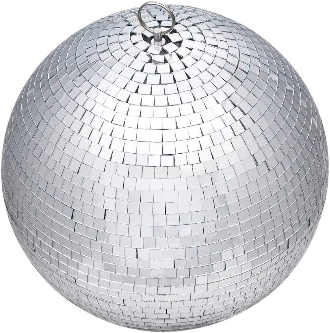 8 Inches Party Lighting Mirror Ball for Home Party Disco Karaoke Stage Decor