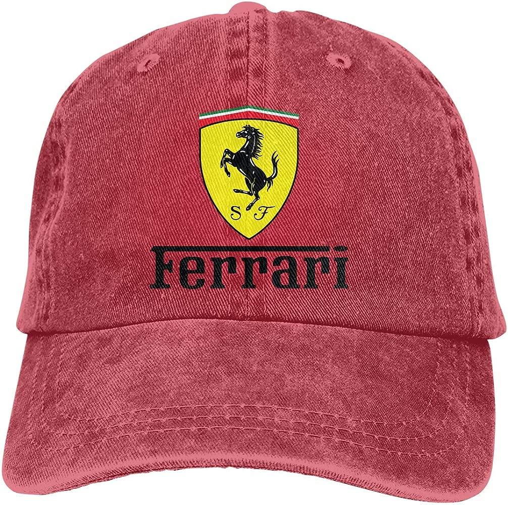 Novelcustom Hombres Mujeres Vintage Ajustable Dad-Hat Ferrari Logo ...