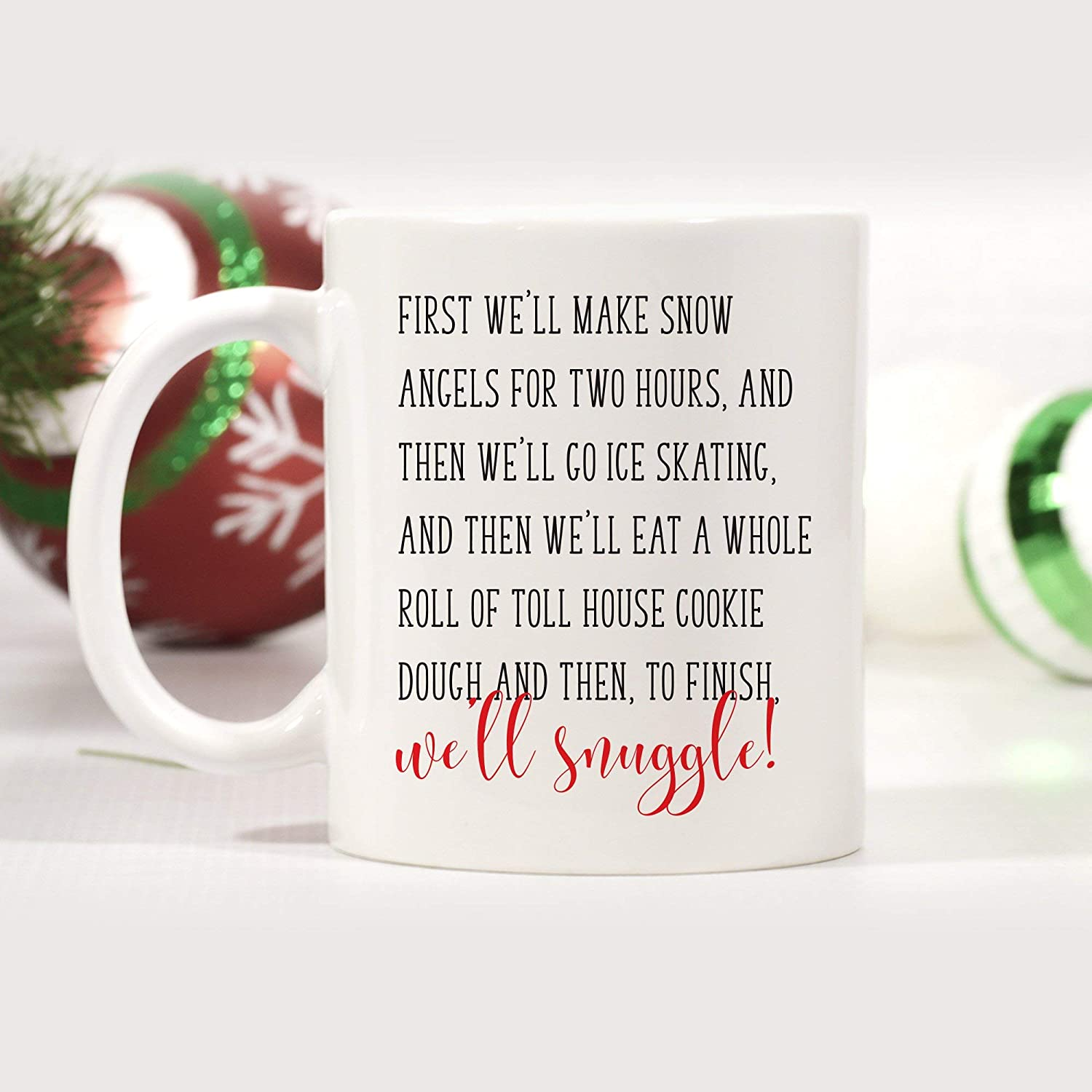 Amazon First Well Make Snow Angels Mug Buddy The Elf Mug Elf