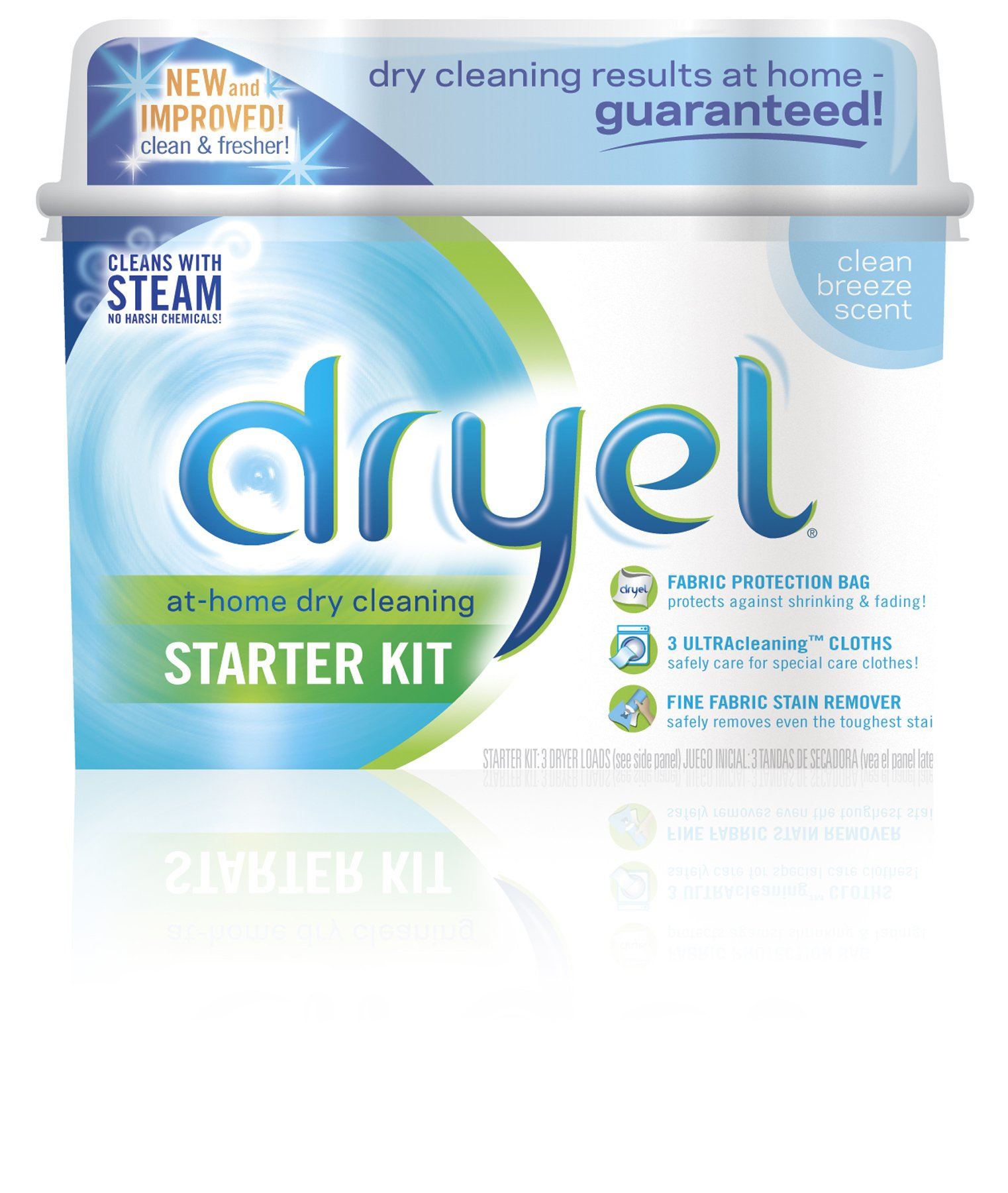 Dryel Clean Breeze Starter Kit (Pack of 2)