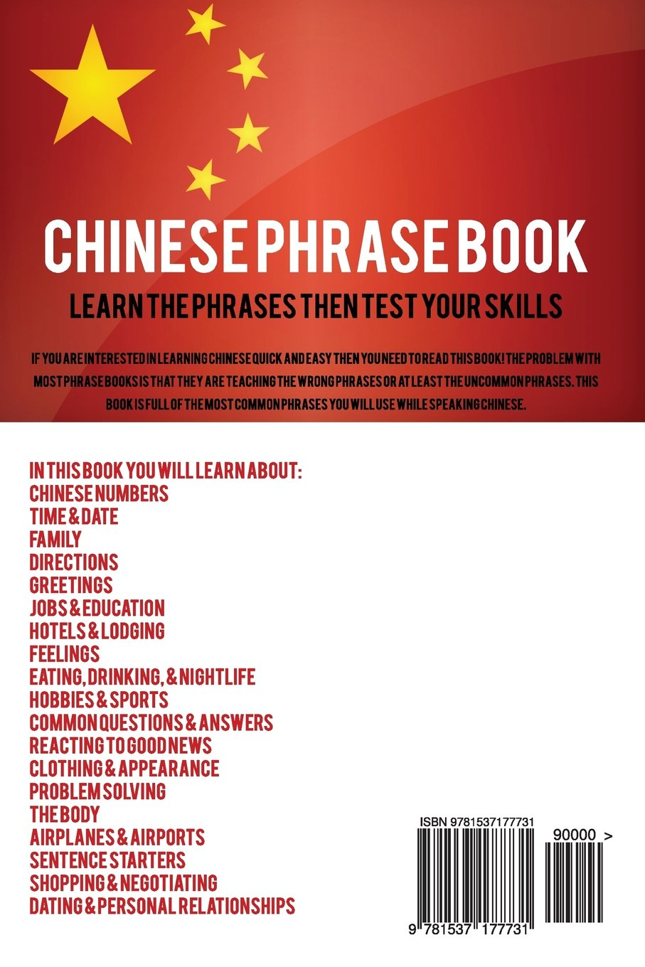 Chinese Phrase Book Learn Chinese Quick And Easy With Chinese