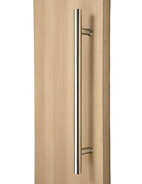 36 Inch (900 Mm) Door Pull Handle / Back To Back / Satin Finish