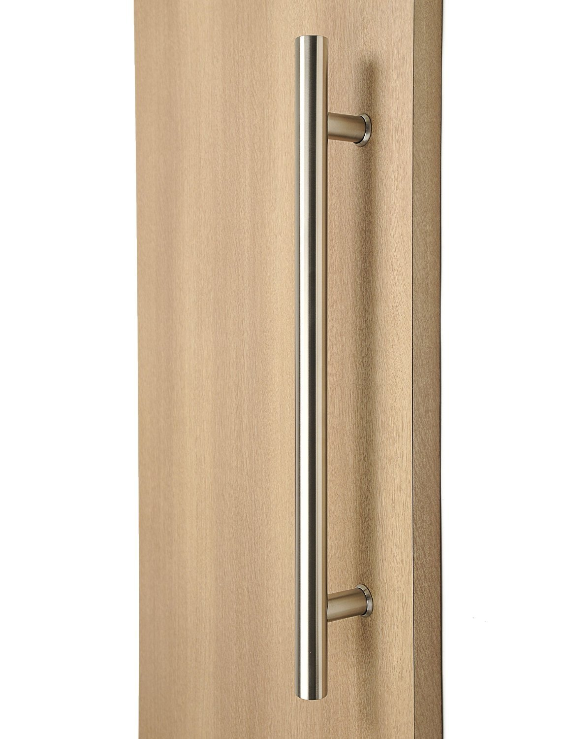 36 inch (900 mm) Door Pull Handle / Back to Back / Satin Finish / Commercial / Residential / 304 Grade Stainless Steel / Ladder Style (Handle Diameter: 1 inch / 25 mm)