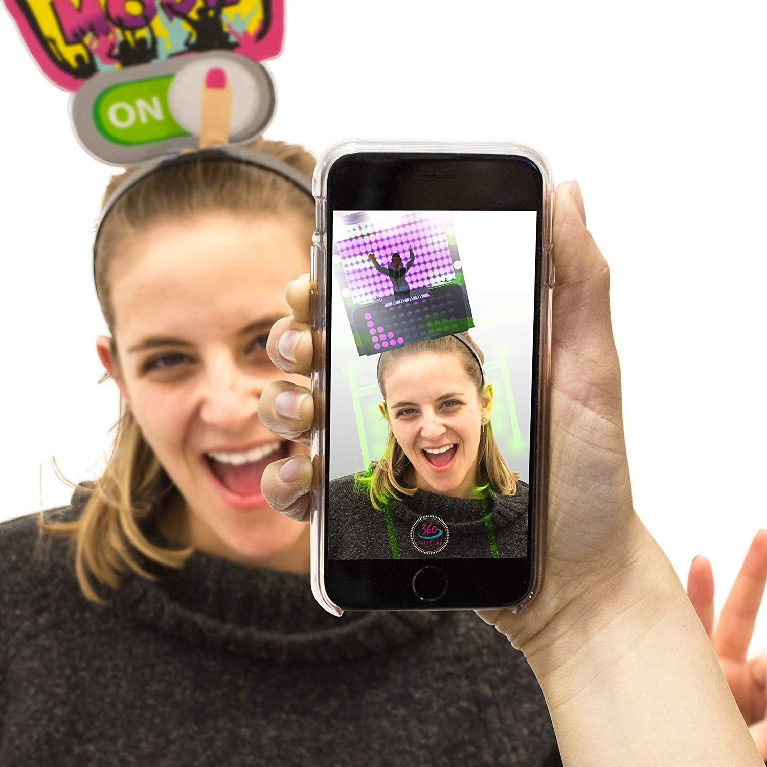 360 Party Lab Fun Headbands Augmented Reality 10 Pack