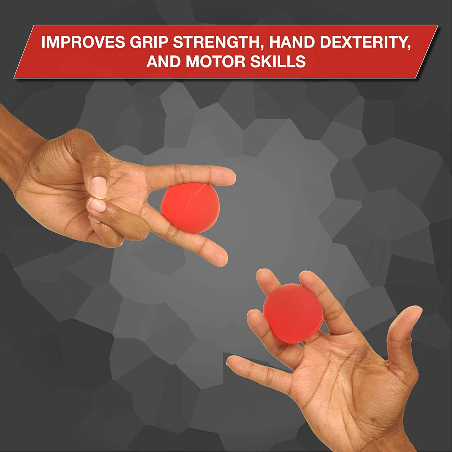 Finger Wrist Grip Strengthening /& Therapy Squeeze Ball to Increase Hand Flexibility /& Relieve Joint Pain Stress Ball for Hand Forearm X-Large TheraBand Hand Exerciser