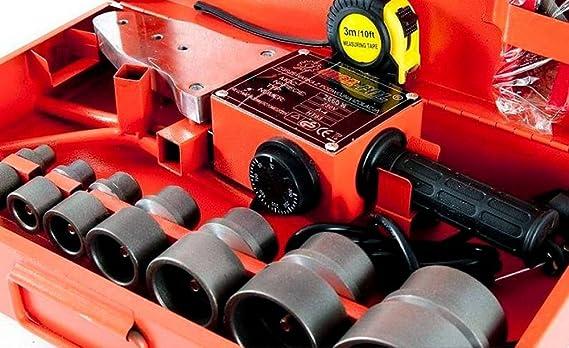 Soldador, máquina soldadora de tubos ppr, 2,66 kW: Amazon.es: Bricolaje y herramientas