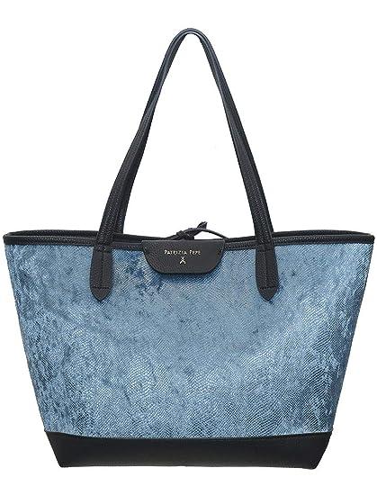 quite nice 312dc 3f6c4 PATRIZIA PEPE - Reversible Shopping Bag: Amazon.co.uk: Clothing