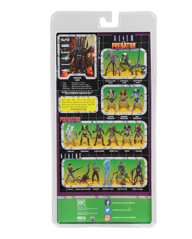 NECA - Figurine Aliens - Alien Scorpion 18cm - 0634482516690 ...