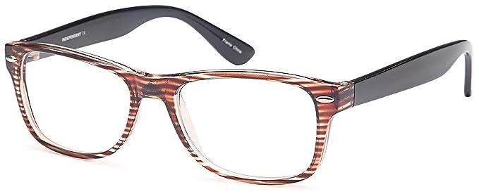 e08b6f1f31 DALIX Womens Prescription Eyeglasses Frames 52-17-143-37 RXable in Brown