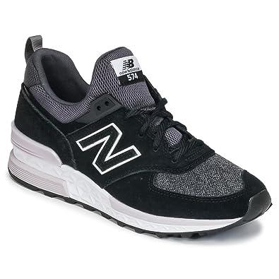 New Balance Ws574 eb b, Sneakers Basses Femme: