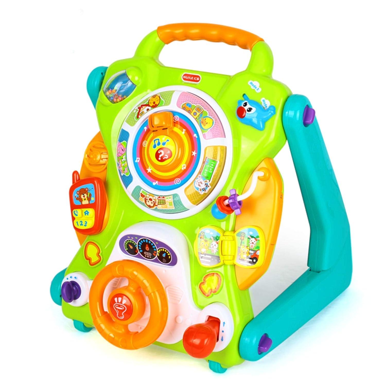Chariot de marche Les premiers pas de bébé - Trotteur jouet avec activités pour enfants, garçons et filles Eastsun Import Limited
