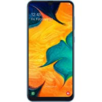 Samsung Galaxy A30 Dual SIM - 64GB, 4GB RAM, 4G LTE, Blue, UAE Version