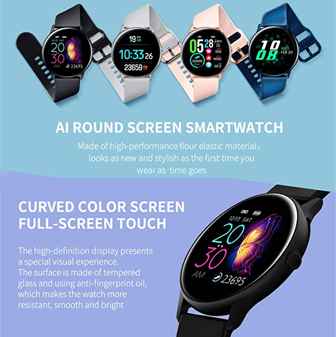 XMYL Smartwatch Mujer, Reloj Inteligente Elegante Pulsera de ...