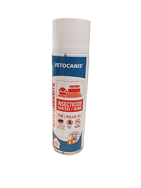 Vetocanis Spray insecticida para el Habitat 500 ML: Amazon ...