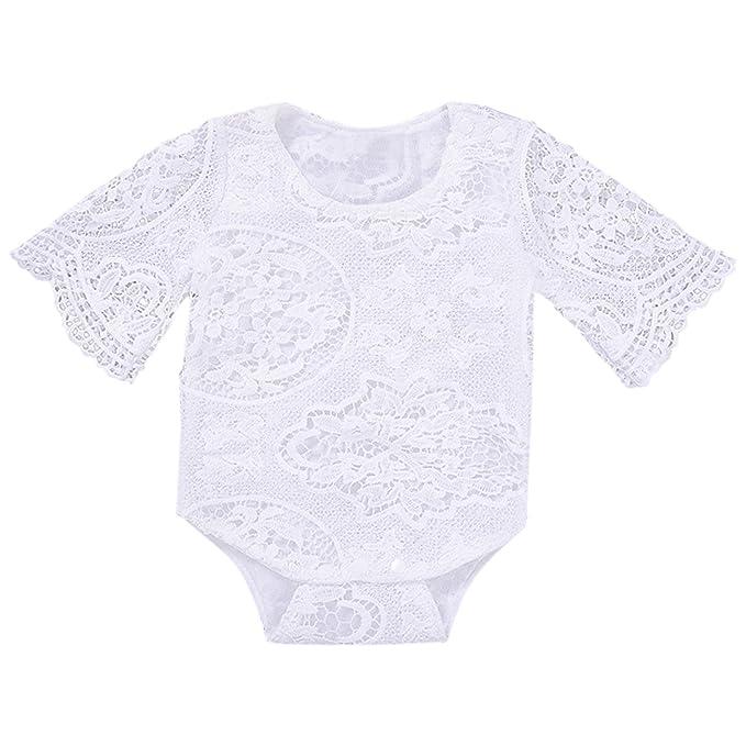 De feuilles Baby Mädchen Lang Spitze Shirt Kinder Kleidung ...