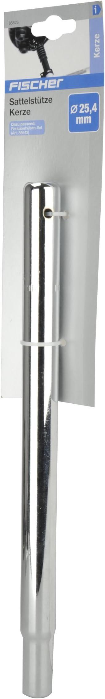 Silber One Size Fischer Kerze 25,4 mm Sattelstützen