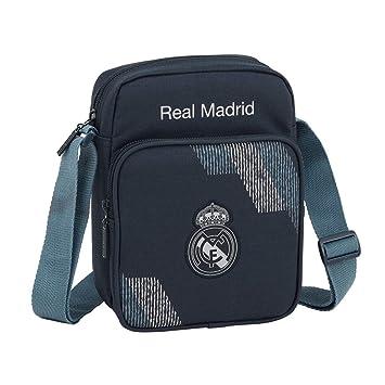 faf658043 Safta Real Madrid 2 Bolso Bandolera 22 cm, Azul: Amazon.es: Equipaje